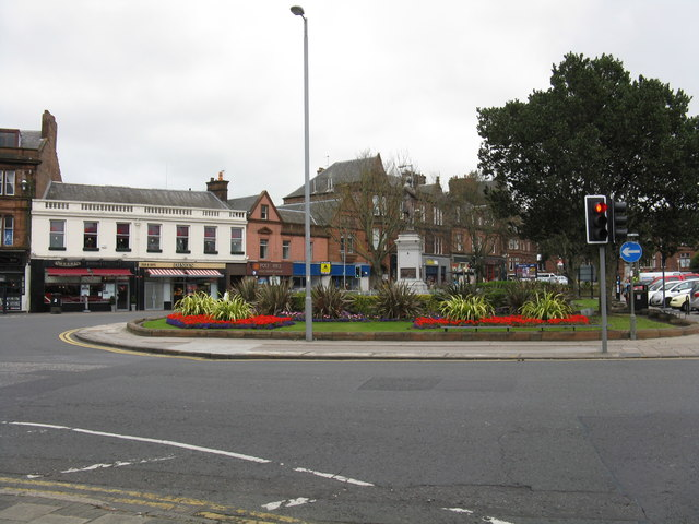 Ayr - Burns Statue Square