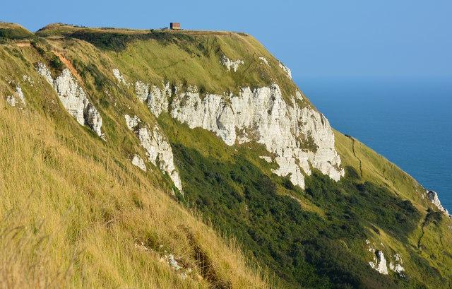 White Nothe landslip, near Ringstead, Dorset