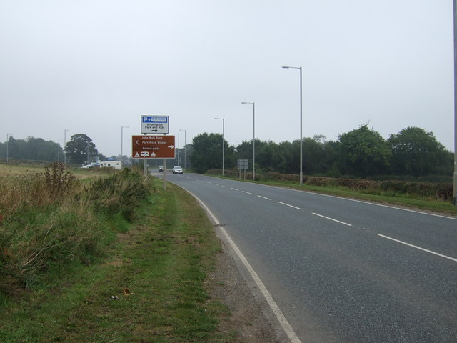 A614 into Carnaby