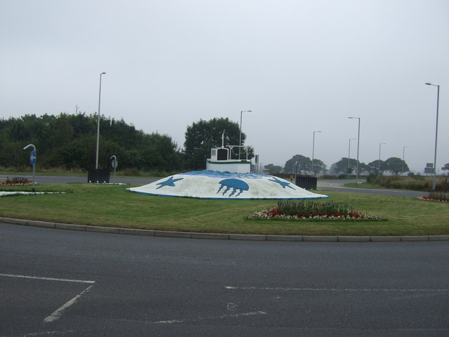 Carnaby Roundabout on the A614