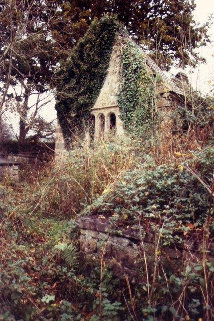 The Ruins of St Mihangel's Church