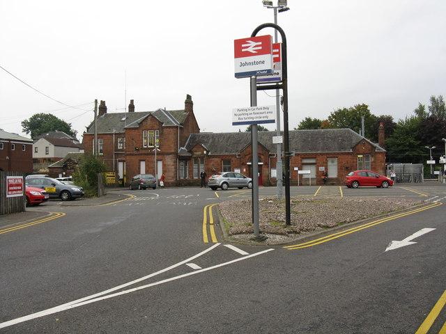 Johnstone - station approach