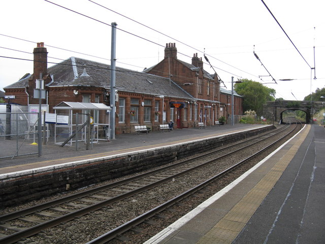 Johnstone - station buildings