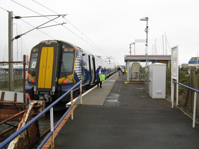 Ardrossan Harbour station