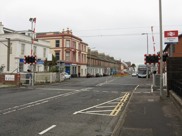 Ardrossan Town level crossing