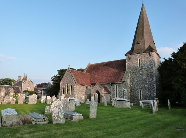 St Andrew's church, Oving, West Sussex
