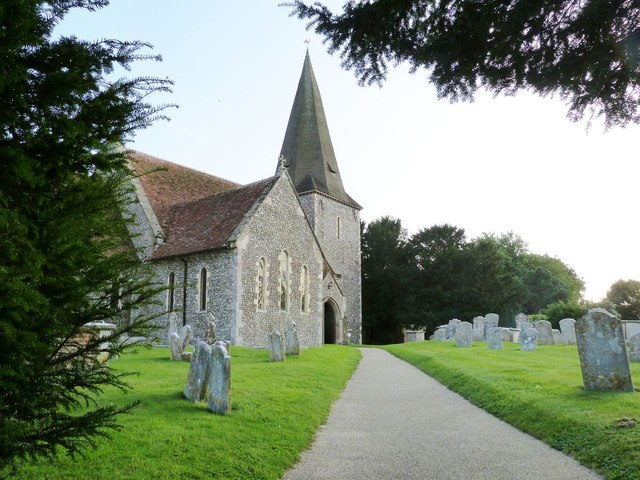 St. Andrew's church,  Oving, West Sussex