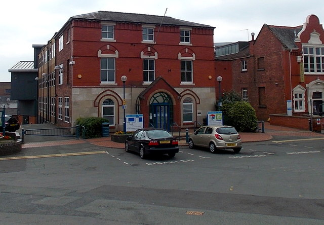 Castle View council offices in Oswestry