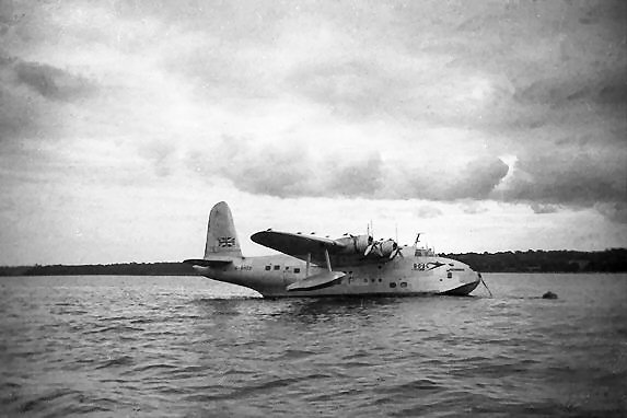 Seaplane on Southampton Water