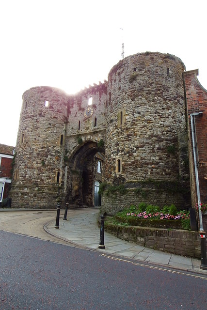 Historic gate in Rye