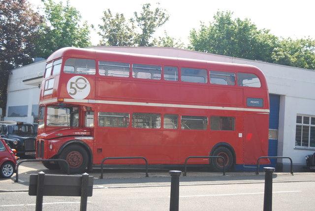 Routemaster bus, Pembury