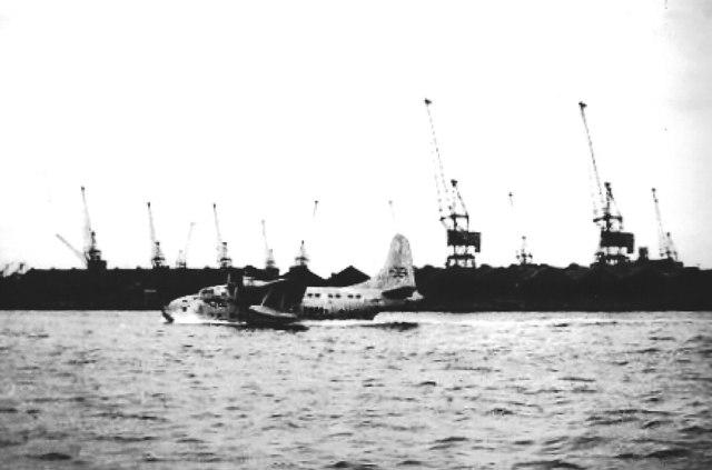 Seaplane on Southampton Water