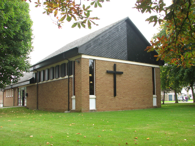 The church of St Edward the Confessor
