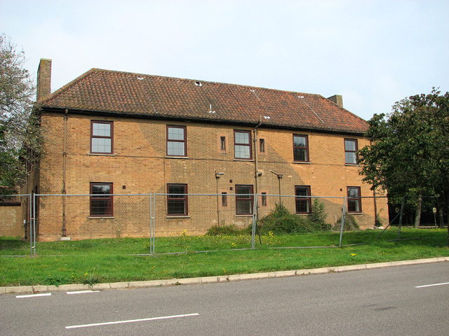 The former Officers' Mess (east wing)