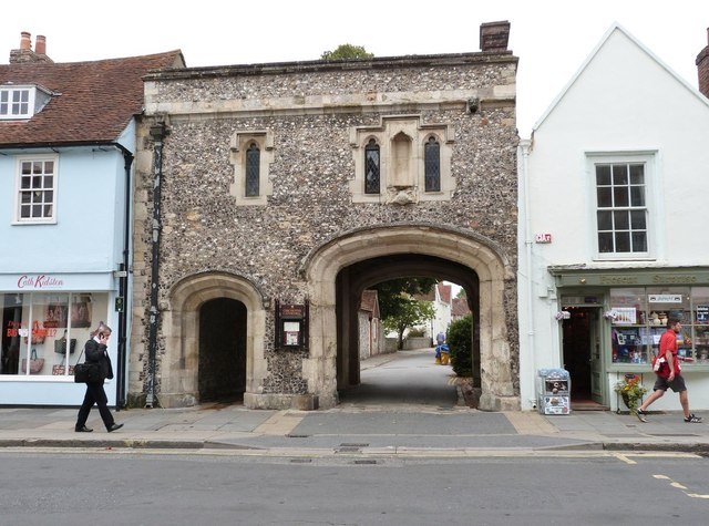 South Street gateway to the cathedral precinct, Chichester