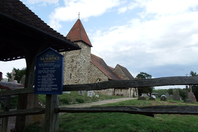 St Lawrence Guestling church