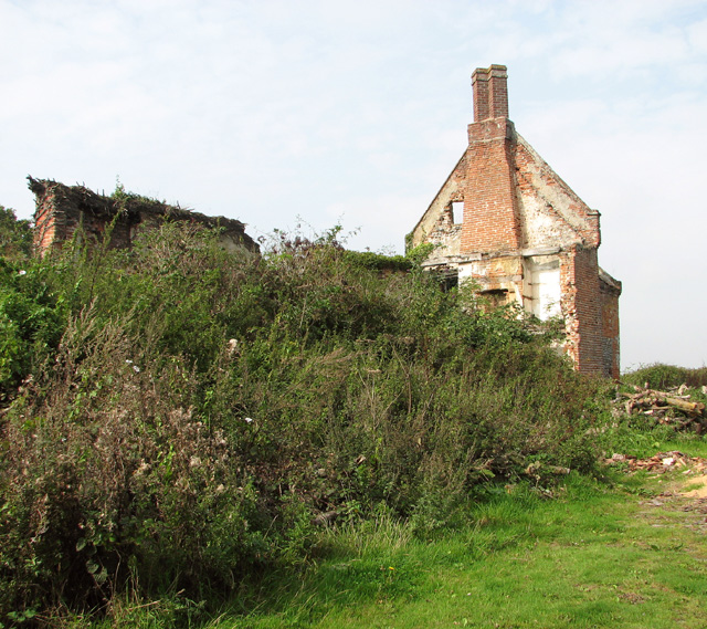 The remains of Rookery Farm