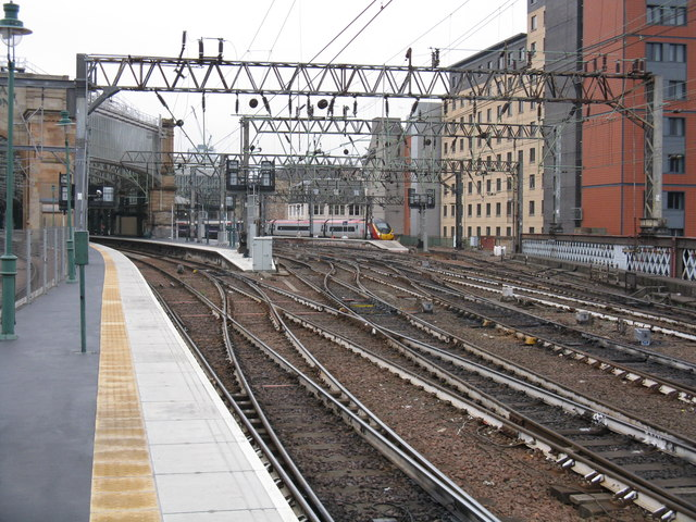 Eastern lines, Glasgow Central station