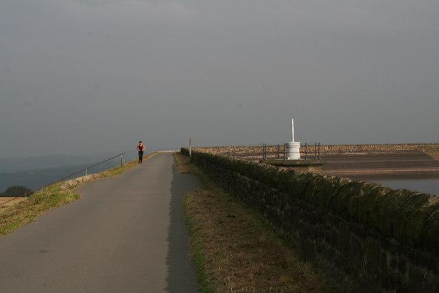 Evening run around Deer Hill Foot Reservoir