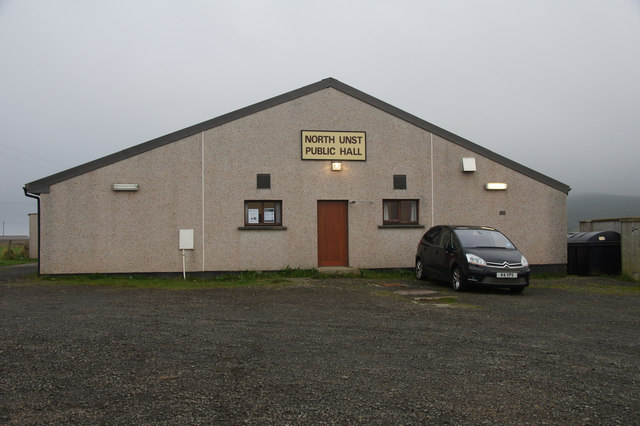 The most northerly polling station in Scotland, Haroldswick