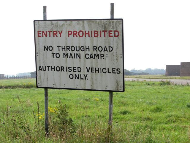 Entry Prohibited