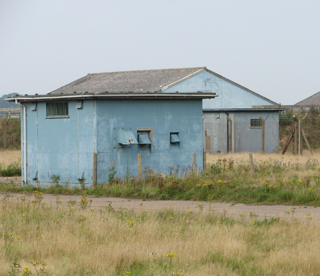 Buildings on the bomb and ammunitions storage compound