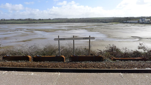 Hayle Estuary from Lelant Saltings Rail Station