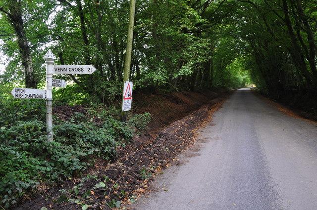 West Somerset : Challick Lane