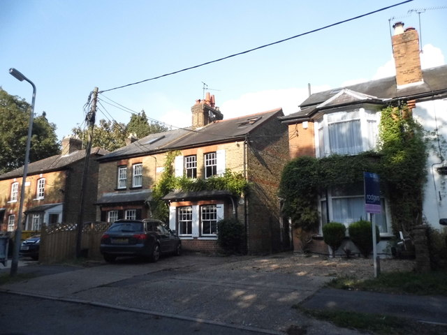 Cottages on Hill End Road, Harefield