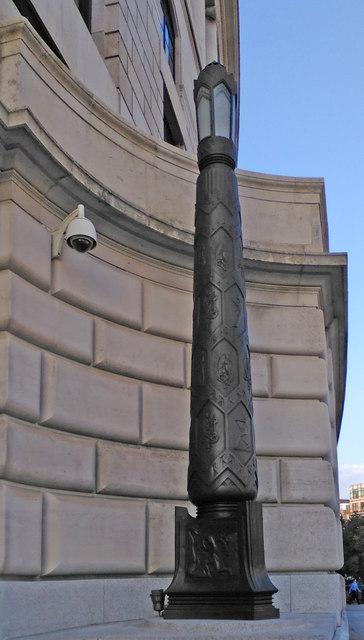 Lamp standard, Unilever House