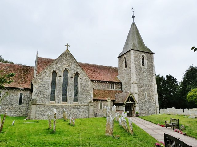 The Church of St Thomas a Becket, Pagham, West Sussex