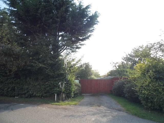 Gate on Springwell Lane