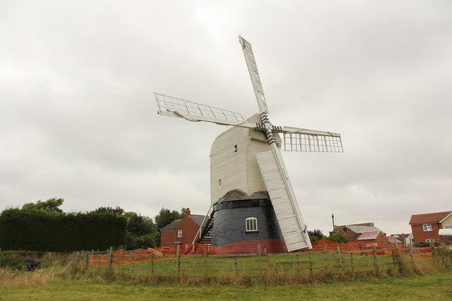 Wrawby Post Mill