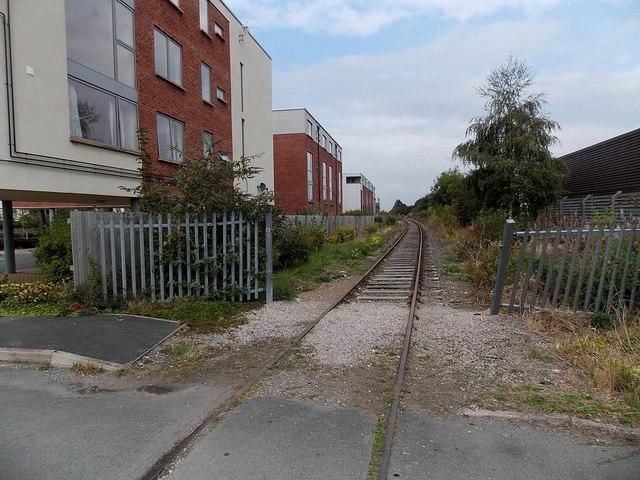 Disused railway line, Oswestry