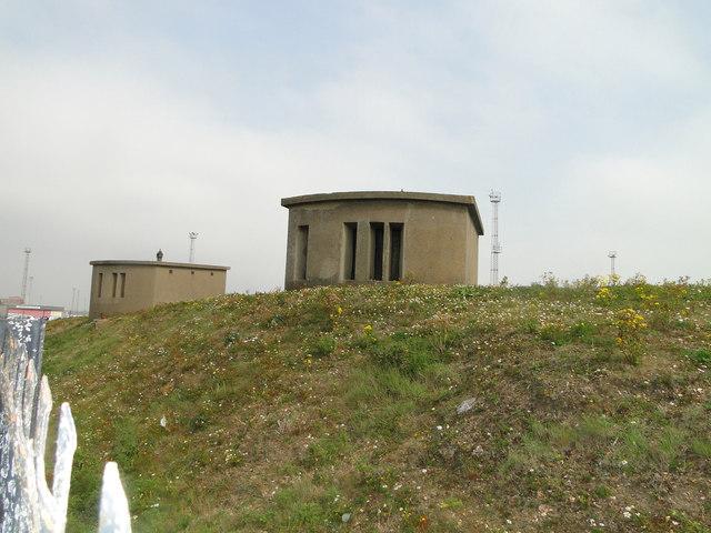 Coastal Artillery Searchlights at Landguard Fort