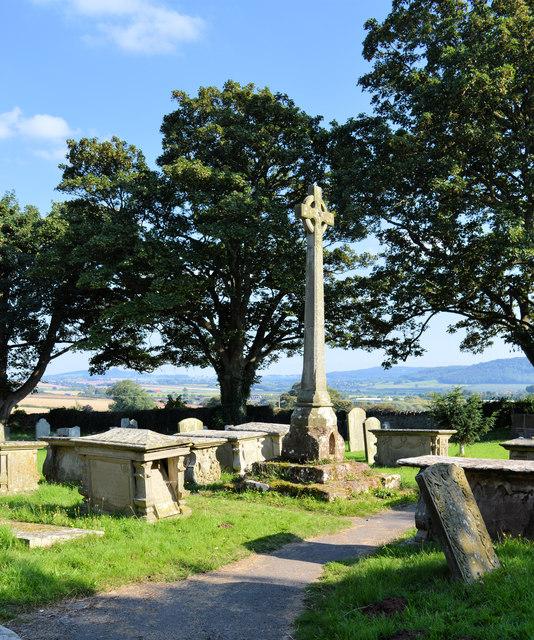 Churchyard cross, Brampton Abbots