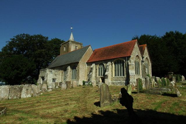 Church near Roysden Hall