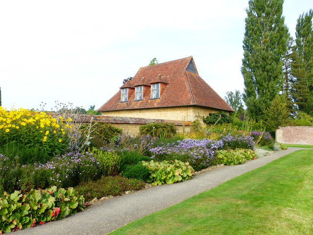 House in the grounds of Barrington Court