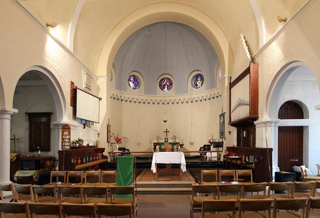 St Thomas, Old Charlton - East end