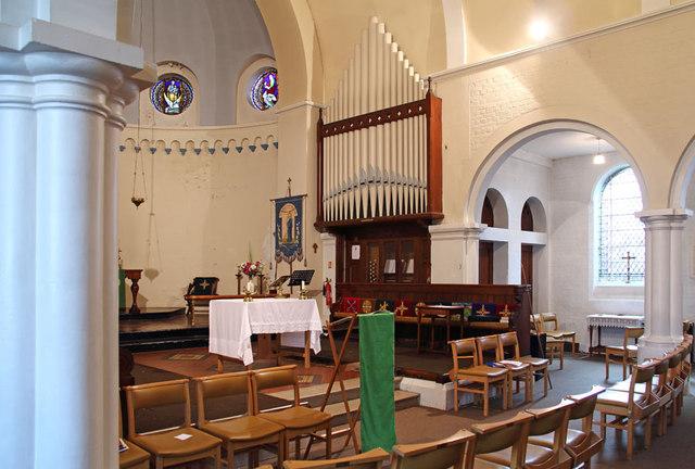 St Thomas, Old Charlton - Organ