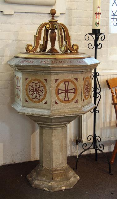 St Thomas, Old Charlton - Font