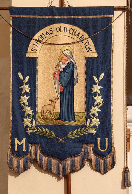 St Thomas, Old Charlton - MU banner