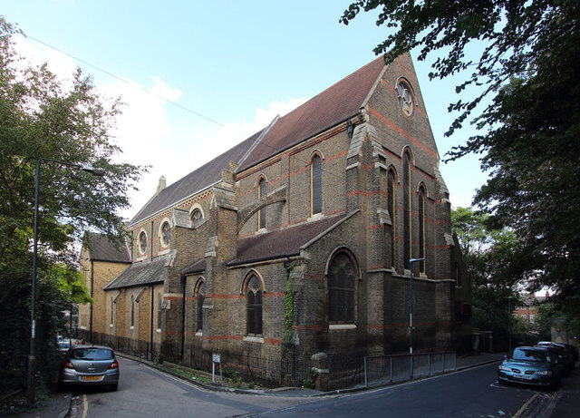 St Michael & All Angels, Borgard Road, Woolwich, London SE18