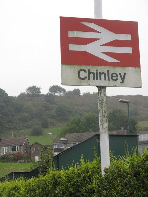 Chinley Station, Derbyshire