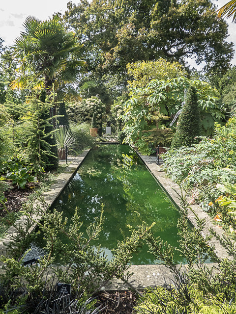 Ornamental Lake, Royal Horticultural Society Garden, Wisley, Surrey