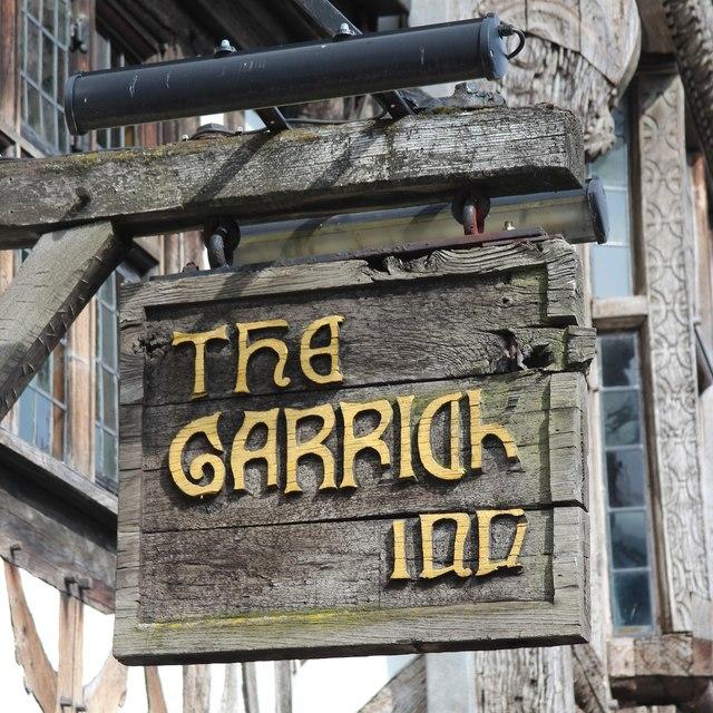 The Garrick Inn sign