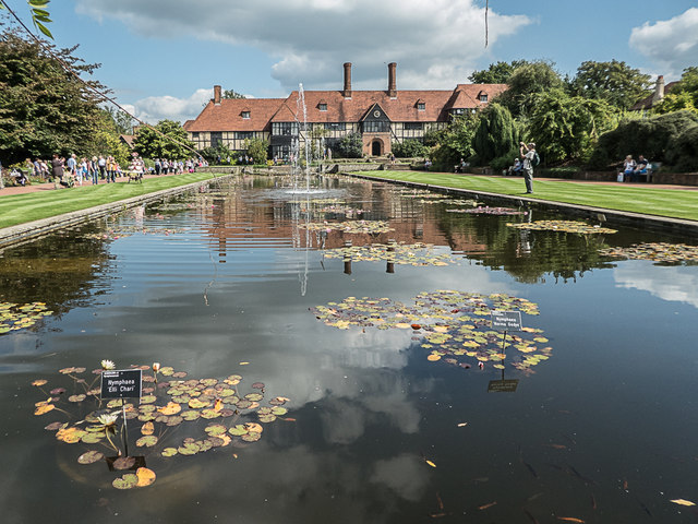 Ornamental Lake, Royal Horticultural Society Garden, Wisley, Surrey
