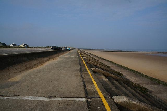 Wales Coast Path at Prestatyn