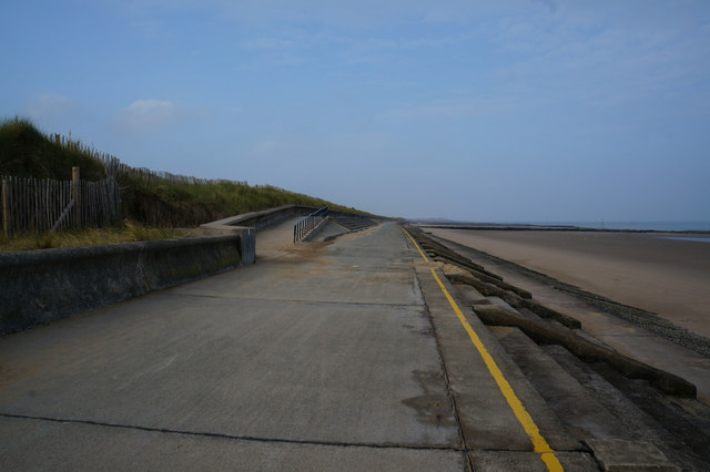 Wales Coast Path at Prestatyn