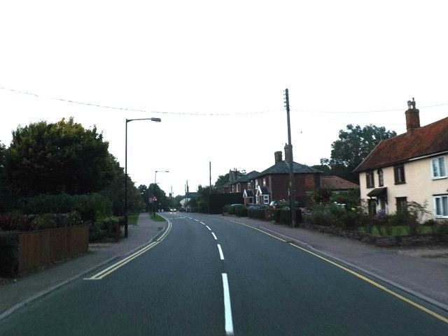 B1077 Shelfanger Road, Diss